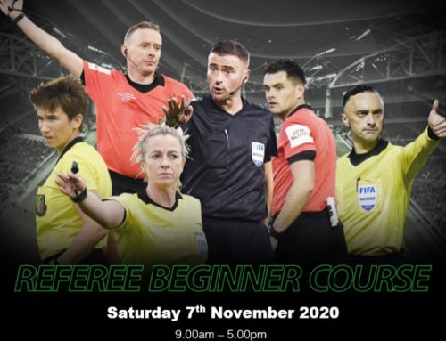 Referees Beginner Course in Cork
