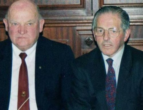 Refereeing great Owen McCarthy is laid to rest