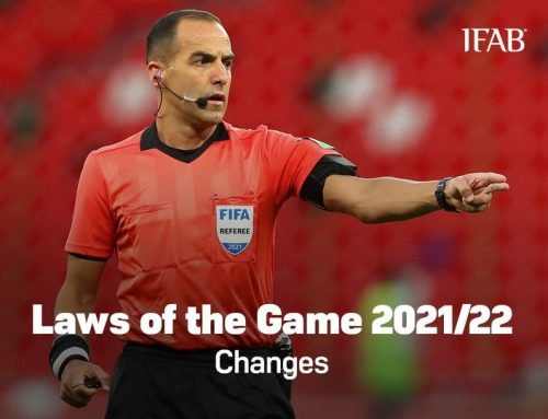 IFAB changes to the Laws of the Game 2021/22