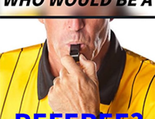 Who would be a Referee?